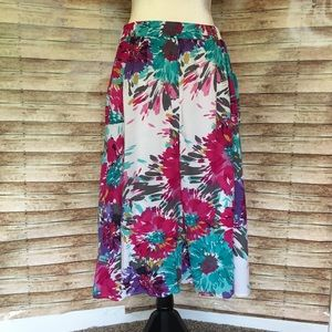 Floral Old Navy Skirt